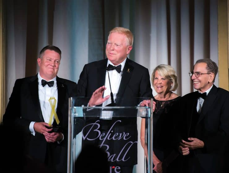 Matt Gephardt, Richard Gephardt, Jane Gephardt and Abdel Ragab
