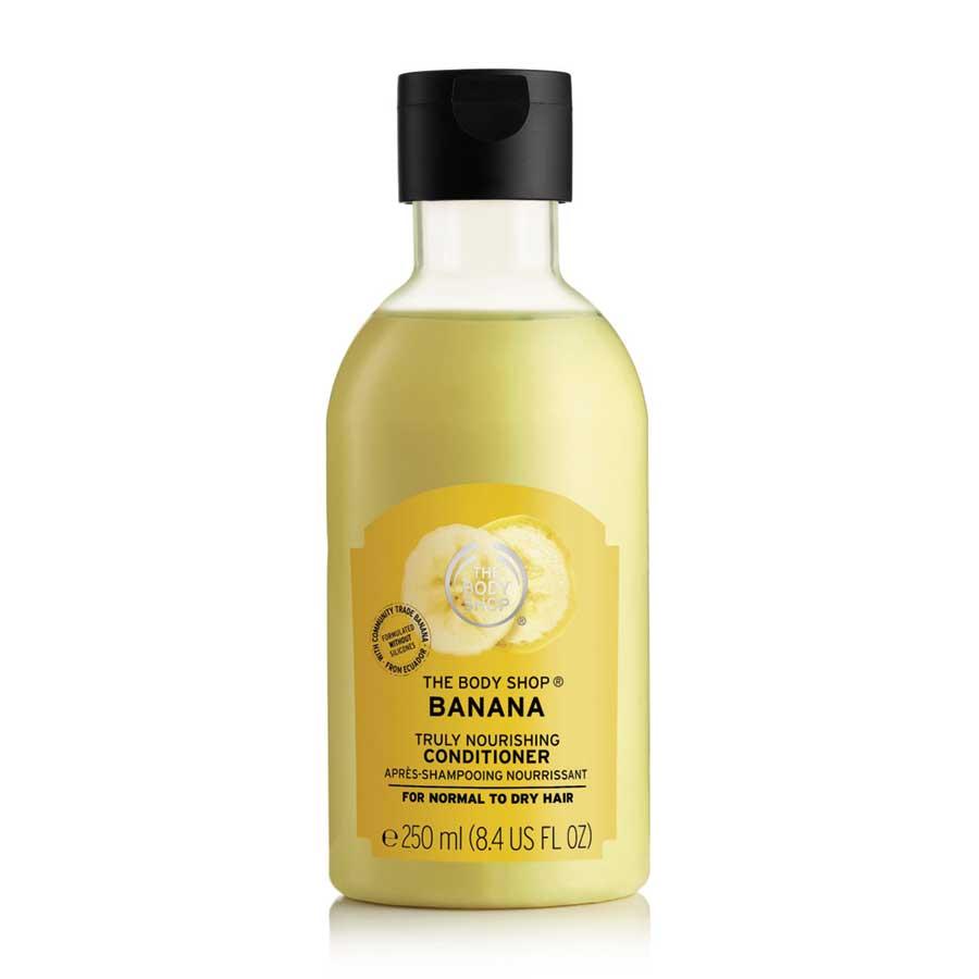 TheBodyShopBanana Truly Nourishing Shampoo and Conditioner